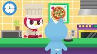 迷你特工队趣味动画:赛米大厨手忙脚乱给弗特做披萨