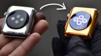 新买的苹果手表拆了,接下来的操作让我大开眼界,他给做上镀金了
