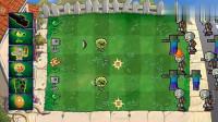 植物大战僵尸:植物和我的世界卡通合体VS僵尸