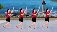 云儿开心广场舞《万爱千恩》32步,健康又快乐