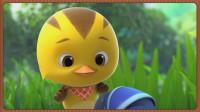 【波特】萌鸡小队快跑 上学路上捡到神秘礼物怎么办