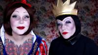 白雪公主和王后仿妆,还是挺想呢,你们觉得呢
