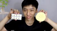 小伙在家无聊,挑战把100块奶片做成一个大奶片!能成功吗?