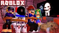 小格解说 Roblox 电锯惊魂故事:醒来被关密室!惊险审判模拟器?乐高小游戏