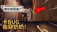 教大家一个BUG,如何在一楼偷窥二楼的奶奶!-恐怖奶奶第二章【纸鱼】