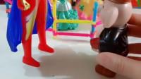 少儿益智游戏玩具:八戒抓来了6个公主,奥特曼来救了