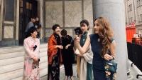 天津美女姐姐大型穿越现场 我与旗袍有个星巴克的约会