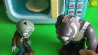 僵尸抓了佩奇乔治,要把他们烤了吃,小朋友快救救他们吧!(1)