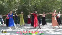 紫竹院广场舞《红枣树》,与天津舞友共舞