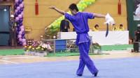 2005年第十届全运会男子武术套路预赛 男子刀术 007 王清策(青海)