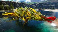 方舟生存进化 洪荒归来06 巨型黄金帝王鳄 如水犹如蛟龙入海