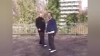 武术人 通背拳 北京牛街白猿通背拳名家张信斌先生传授老外通背拳实战技法