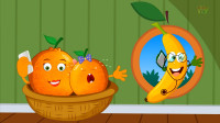 儿童歌曲_Five Little Oranges_英语儿歌解说