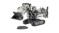 LEGO乐高积木玩具科技机械组42100利勃海尔R9800挖掘机套装速拼