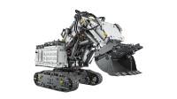 LEGO乐高玩具科技机械组系列42100利勃海尔R9800遥控挖掘机套装操作演示