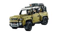 LEGO乐高积木玩具科技机械组系列42110路虎卫士越野车套装速拼