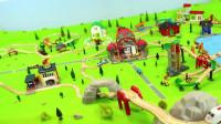 挖掘机视频表演大全挖土机玩具视频 玩具 汽车总动员 01