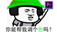 【PR教程】PR2019零基础调色入门教程01基础知识