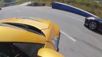 汽车特技表演,高难度的极限漂移,不是老司机做不来!