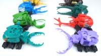 虫子玩具 机器人 对决