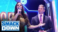 【SD 10/04】文斯麦克曼和史黛芙妮为新SmackDown开场 全新片头帅哦