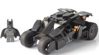 乐高MOC拼装蝙蝠侠 黑暗骑士 TUMBLER战车积木玩具
