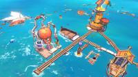 这个游戏居然可以在海上建造基地!01