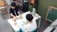 """做家务的男人:汪苏泷""""搞事情""""专用表情,看尤长靖吃番茄!"""