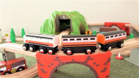 美美的山区新干线列车城市交通系统 BRIO托马斯小火车玩具