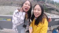 两个女生的骑着摩托去新疆,半路遇到各种问题,爆笑不断