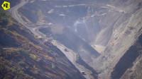 房车游去过很多废弃矿坑的我,第一次见到这么深的大坑,世界少有
