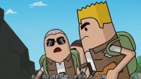 搞笑吃鸡动画:四胞胎跟小学生人火拼消耗殆尽,最后马可波坐收渔翁之利