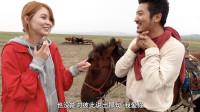 来到蒙古国偏远农村,牧民女儿告诉我附近有突厥古墓,跟她去看看