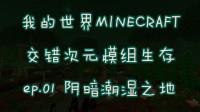 《我的世界MINECRAFT》1.12.2-交错次元模组生存ep.01-阴暗潮湿之地