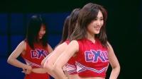 【CUT】《这!就是灌篮》啦啦队女孩在线秀舞姿,青春洋溢成球场靓丽风景线