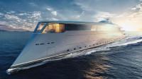 来自未来的氢动力超级游艇,环保与奢华并存,土豪新玩具