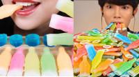 超流行的蜡瓶糖果,网红吃播们吃得不亦乐乎,你吃过吗?