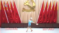 1、第七套柔力球双拍双球套路《爱我中华》(教与学)创编李翠芳:正面动作示范