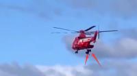 日本救灾直升机失误 一名70岁女性从40米空中坠亡