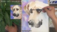 水彩第一季第6集—水彩小狗的画法
