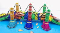 DIY制作炫彩桥梁模型