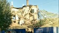 吉林白城办公大楼倒塌