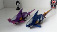 235模玩分享日版蓝鲨王(百兽战队dx)