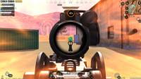 和平精英:二倍镜M249也疯狂,孤身带队包围沙漠山头,谁敢不服!