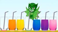变成绿色的猫头鹰女你还能认得出来吗?睡衣小英雄游戏