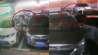 监控实拍:女子停车场内被口罩男强行锁喉往车里拖拽 警方介入!