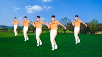 广场舞《万人迷》十六步,挺神气,简单欢快显活力