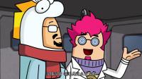 搞笑吃鸡动画:博士最近发明灵感好少,尽拿出些没用的东西忽悠达达