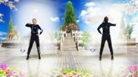 好心情蓝蓝广场舞原创【155】动感欢快健身操【你是我今生最爱的女孩正背面】附教学