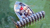 4艘有钱人的大玩具,奔驰AMG造的这艘快艇,堪称水中霸主
